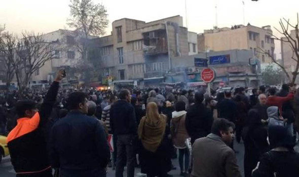 Iran protests reach THIRD day as demonstrators SHOT by police - 2 dead in unjust attack