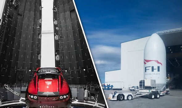 In a BILLION years visitors to Mars will find THIS sports car in orbit around the planet
