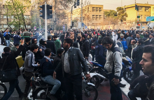 Rouhani acknowledges Iranian discontent as protests continue