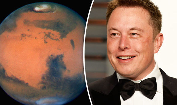 Elon Musk declares world's fastest car will be LAUNCHED TO MARS playing David Bowie song