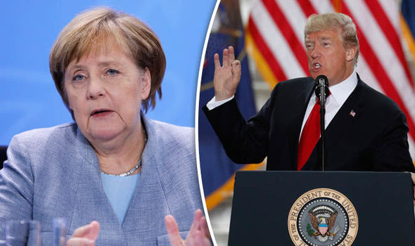 Donald Trump is regarded by Germans as bigger threat than Russia and North Korea