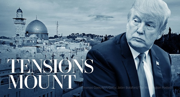 Trumps Jerusalem moves spark a fire in the Middle East