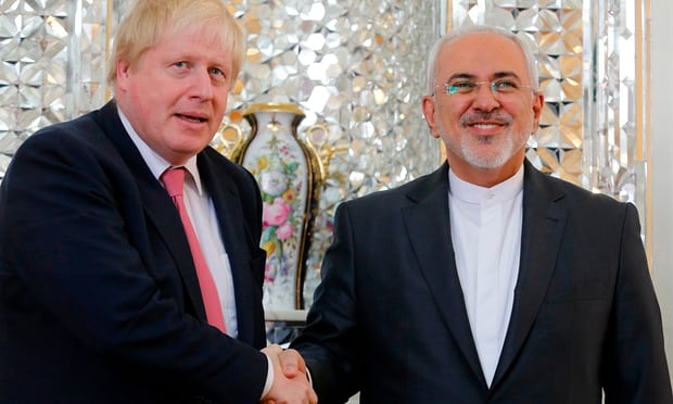 Boris Johnson arrives in Iran to discuss release of Zaghari-Ratcliffe