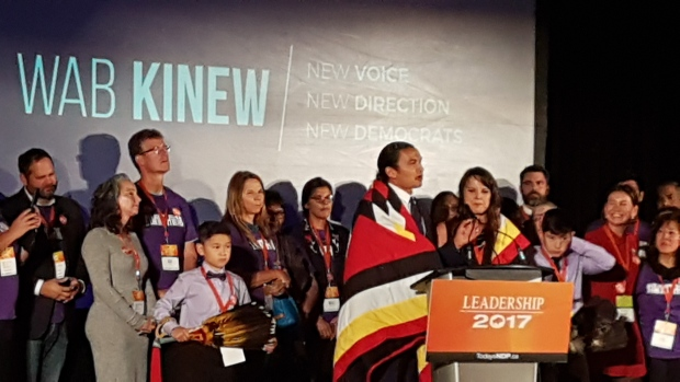 Manitobas NDP chooses Wab Kinew as new leader - CBC.ca