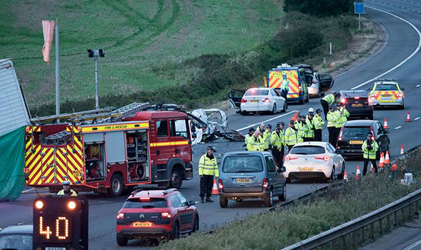 'Body parts everywhere' Hero Marine who saved kids from M5 crash reveals horrific details