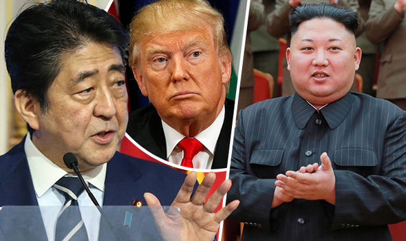 World War 3: Japan warns North Korea the time for talking is OVER as tensions soar with US