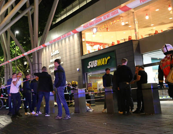 Westfield shopping centre acid attack: Six injured in east London, police at the scene