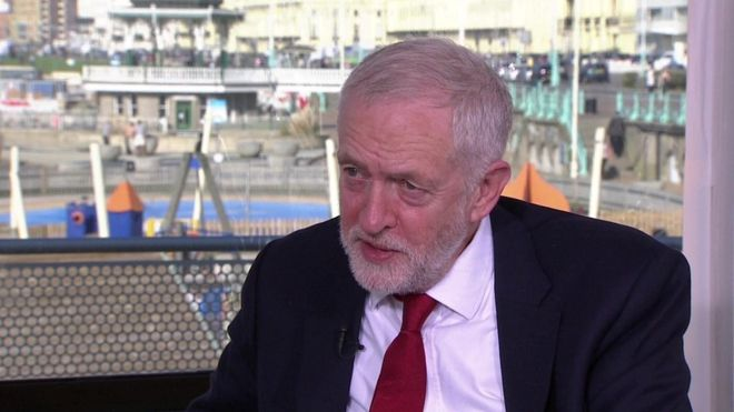 Brexit: Jeremy Corbyn urges caution on single market