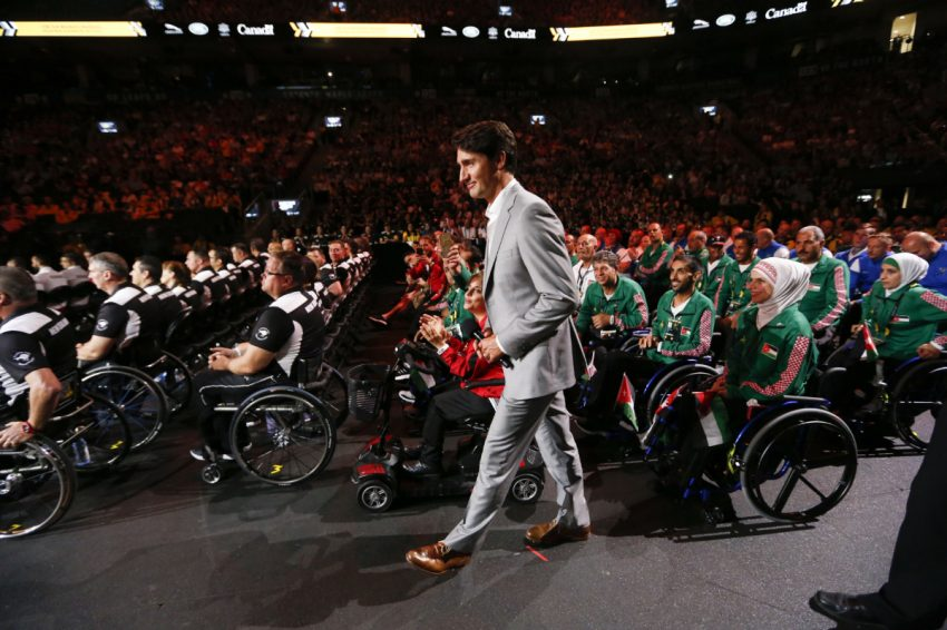 'You're not just here to inspire, you're here to win': Trudeau to athletes at Invictus Games opening ceremony