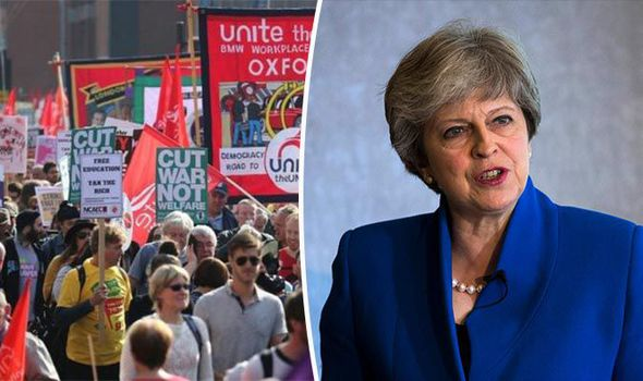 Rising up against May: 50,000 anti-Brexit protesters to descend on Tory conference