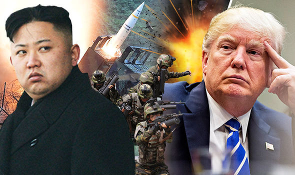 UK only has HOURS to prepare for WW3: North Korea vs US is REAL possibility - shock report