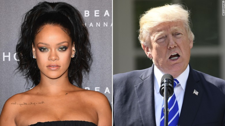 Rihanna to Trump: Dont let your people die like this