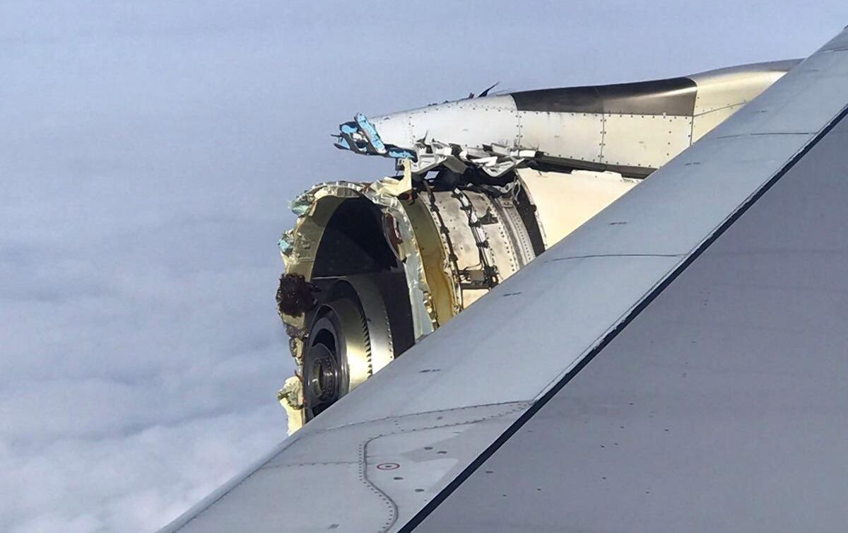 SEE IT: Engine destroyed on Air France flight from Paris to LA - New York Daily News