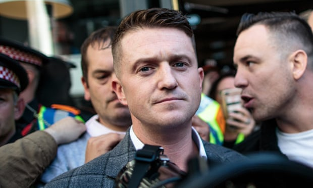 Counter-extremism chief attacks Tommy Robinson soldier photo