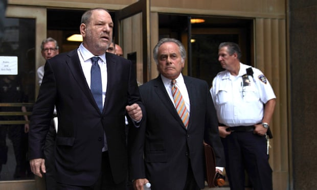 Harvey Weinstein: prosecutors in New York drop part of sexual assault case