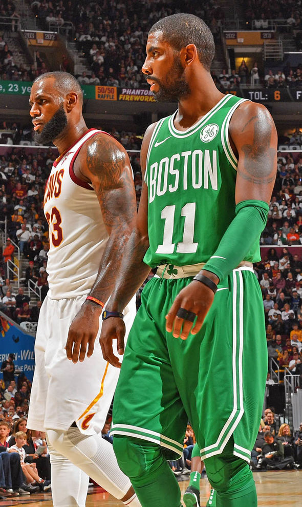 NBA news: Kyrie Irving aims sly dig at LeBron James over Celtics trade
