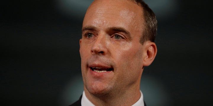 Britain could be left with no choice but to pursue no-deal Brexit, Dominic Raab warns