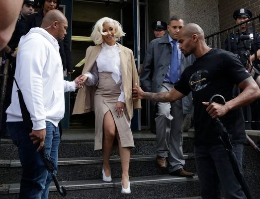 Cardi B arrested, charged with endangerment and assault in New York strip club fight