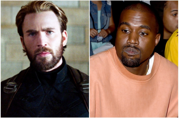 Chris Evans slams Kanye West for slavery remarks