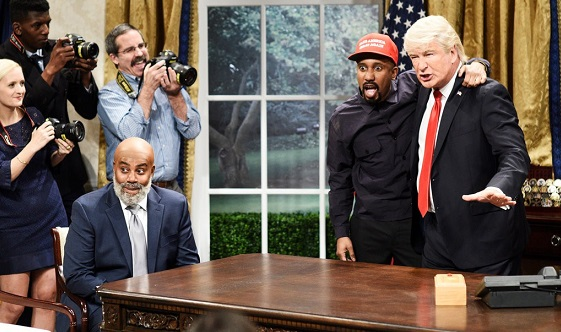 SNL Mocks President Trump and Kanye West