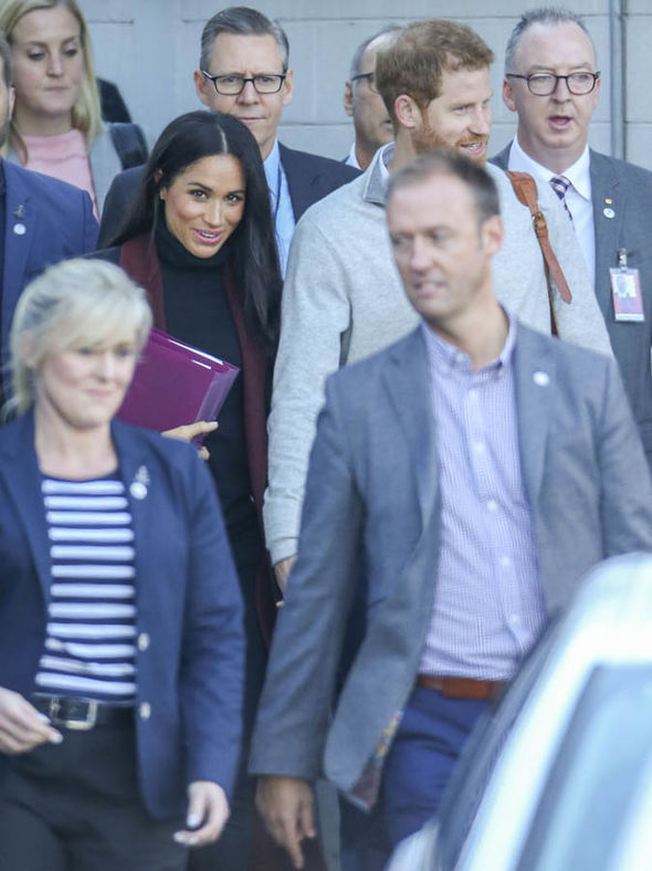 Meghan Markle and Harry in pictures: Meghan beams as she arrives in Australia for tour
