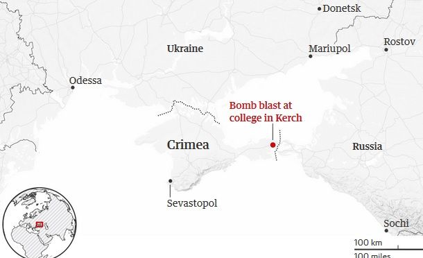 Crimea college hit by deadly bomb and shooting attack
