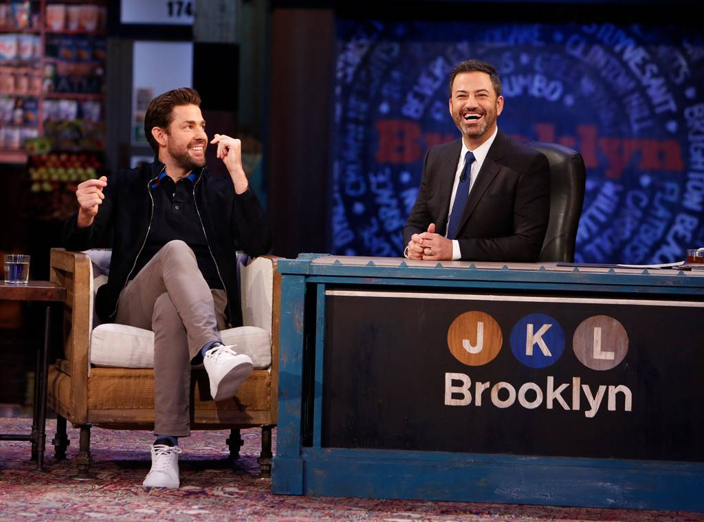 LOL! John Krasinski Pulls a Hilarious Prank on Jimmy Kimmel