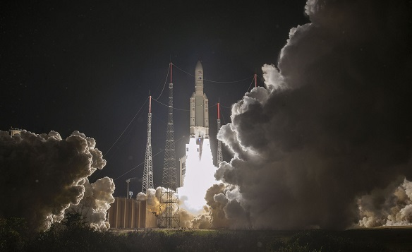 BepiColombo Spacecraft Launch on 7-Year Trek to Mercury for Europe and Japan