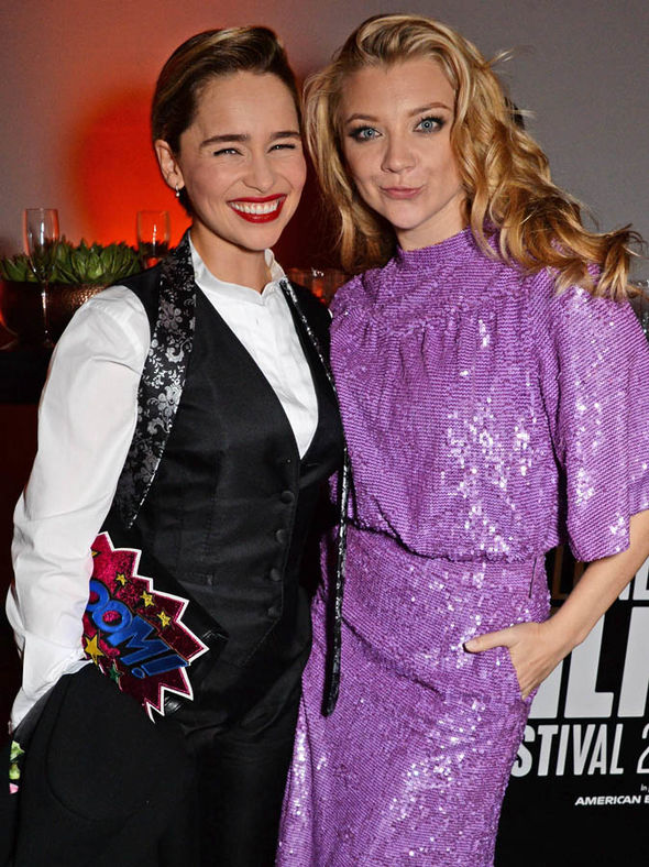 Emilia Clarke in pictures: Game of Thrones actress reunites with co-star at Film Festival