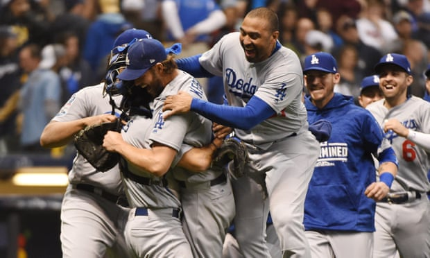 Dodgers set up World Series with Red Sox after Game 7 win over Brewers