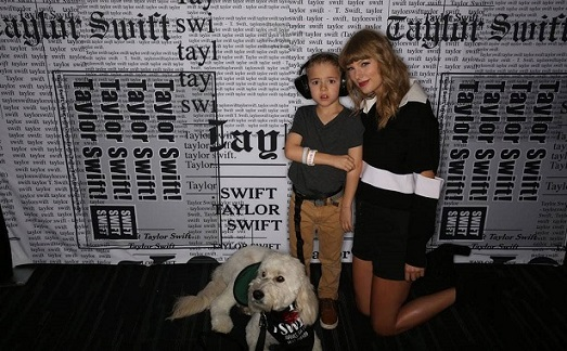 Taylor Swift Meets 8-Year-Old Boy With Autism Who She Helped Get a Service Dog
