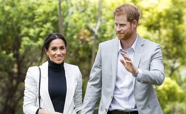 After Resting at Home, Meghan Markle Steps Out at Reception with Prince Harry — See the Photos!