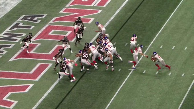New York Giants produce another offensive debacle vs. Atlanta Falcons