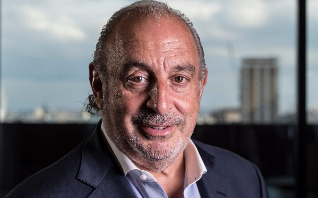 Sir Philip Green named as man at heart of UK #MeToo scandal