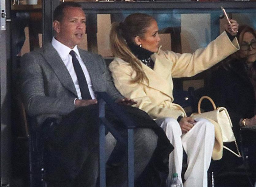 Jennifer Lopez and Alex Rodriguez are basically Fenway regulars now