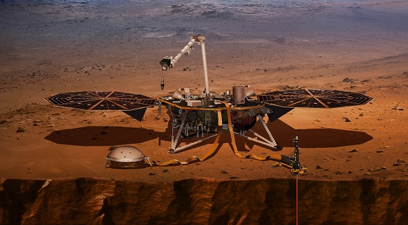1 Month to Mars! NASAs InSight Lander Nearing Red Planet Touchdown