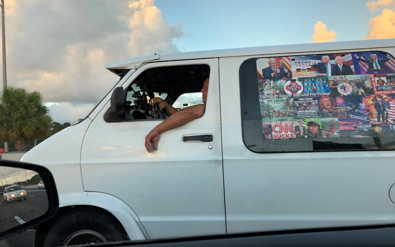 Cesar Sayoc: The mail bomb suspect who drove a van plastered with Trump stickers