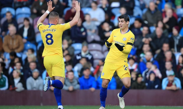 Ross Barkley makes his mark as Chelsea cut down ineffectual Burnley