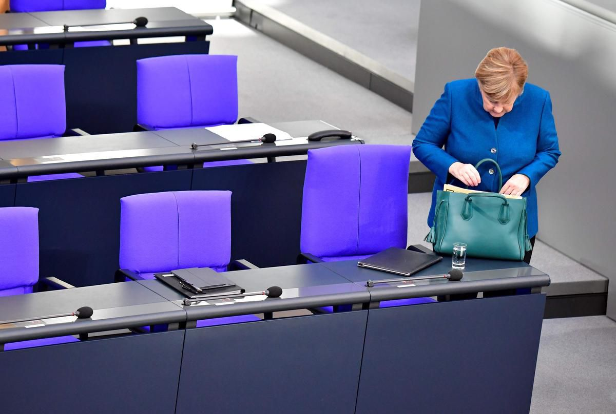 Angela Merkel To Step Down From Christian Democrat Party In December