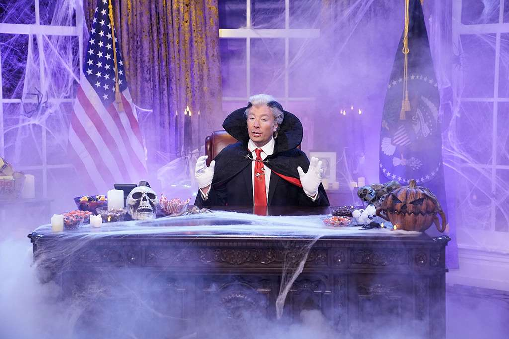 Jimmy Fallons Count Trumpula Declares Victory in the War on Halloween: Ivanka Suck Your Blood