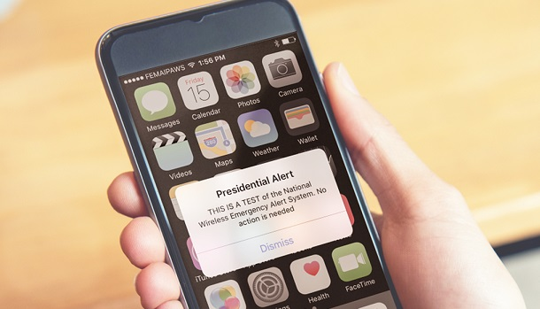 'Presidential Alert' Will Go to Millions of Cellphones Across the U.S