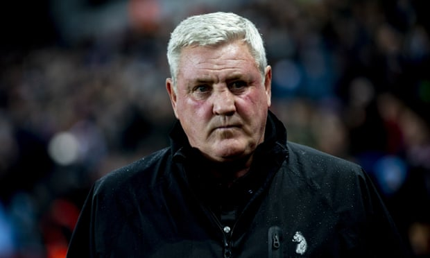 Steve Bruce sacked as Aston Villa manager after one win in 10 matches