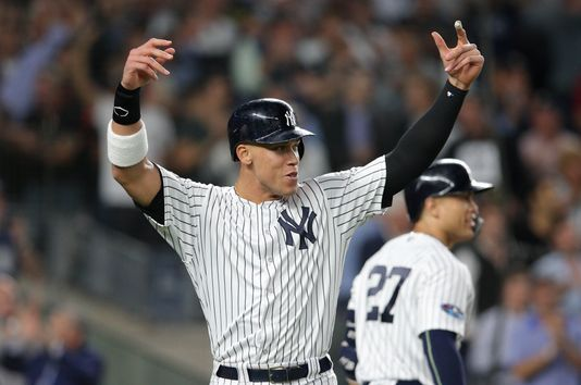Yankees Aaron Judge makes powerful opening statement in playoffs