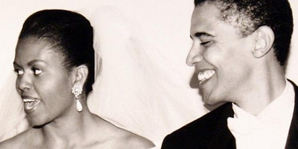 Barack Obama wrote a heartwarming message to his wife Michelle on their 26th anniversary