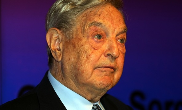 Trump Says George Soros Backs Paid Professional Kavanaugh Protesters