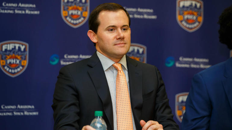 Phoenix Suns fire general manager Ryan McDonough with a little more than a week before the season begins