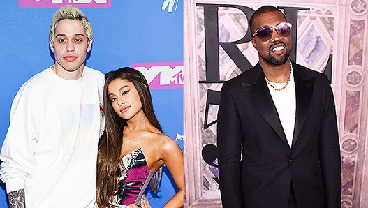 Ariana Grande Shades Kanye West & Supports Pete Davidson, Despite Kim K Friendship