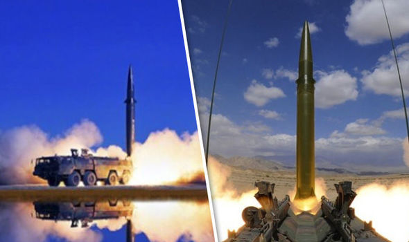 China releases pictures of ballistic missiles in threat they can strike ANYWHERE in world