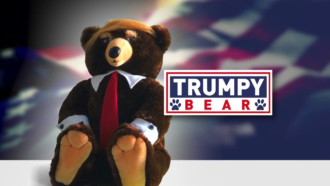 The 22-Inch TRUMPY BEAR Youve Never Wanted Is On Sale With Added Bonus