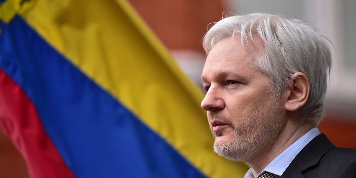 UK rejects request for diplomatic immunity for Assange